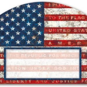 Magnet Works MAIL76448 Pledge of Allegiance Yard DeSign