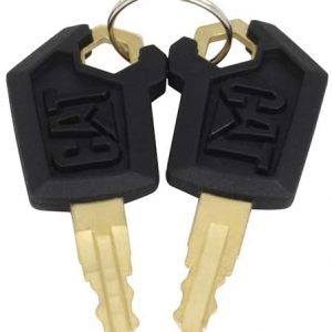 Keys for CAT Caterpillar Heavy Equipment (2 Packs )