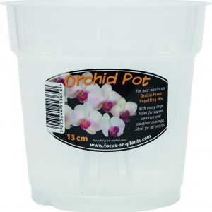 Growth Technology POCL13M 13cm Clear Orchid Pot