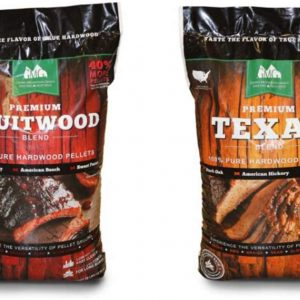 KEXMY Green Mountain Grills Premium Texas & Fruitwood Hardwood Grill Cooking Pellets