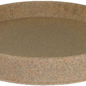 Tusco Products TR30SS Round Saucer, 30-Inch Diameter, Sandstone